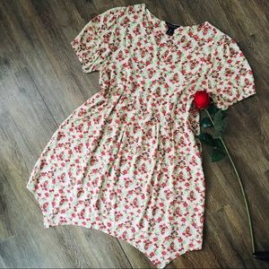 Dresses & Skirts - Adorable Floral Baby-Doll Dress!